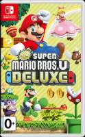 Купить Игра для Nintendo Switch Nintendo, New Super Mario Bros U Deluxe
