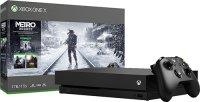 Игровая приставка Microsoft Xbox One X 1ТБ + Metro Exodus