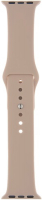 Ремешок InterStep Sport для Apple Watch 38mm/40mm, силикон, розовый (HWE-AWB40SPT-NP0005O-K100) фото