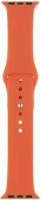 Ремешок InterStep Sport для Apple Watch 38mm/40mm, силикон, оранжевый (HWE-AWB40SPT-NP0015O-K100)