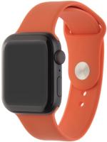 Ремешок InterStep Sport для Apple Watch 42mm/44mm, силикон, оранжевый (HWE-AWB44SPT-NP0015O-K100)