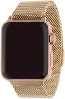 Ремешок InterStep Mesh для Apple Watch 38mm/40mm, сталь, розовое золото (HWE-AWB40MES-NP0005O-K100)