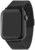 Ремешок InterStep Mesh для Apple Watch 42mm/44mm, сталь, черный (HWE-AWB44MES-NP0001O-K100)