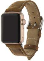 Ремешок InterStep Classic для Apple Watch 38mm/40mm, натуральная кожа, коричневый (HWE-AWB40CLS-NP0013O-K100)