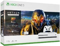 Игровая приставка Microsoft Xbox One S 1TB + Anthem