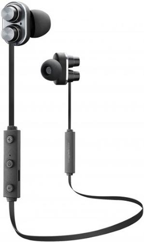 Беспроводные наушники с микрофоном Cellular Line Duet Black (BTDUETK)