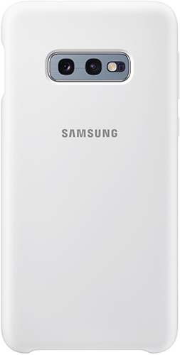 Купить Чехол Samsung, Silicone Cover для Galaxy S10E White...