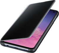 Чехол Samsung Clear View Cover для Galaxy S10E Black (EF-ZG970CBEGRU)