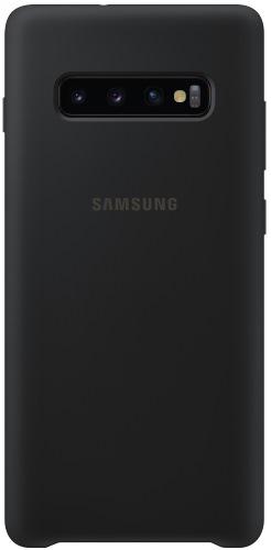 Чехол Samsung, Silicone Cover для Galaxy S10+ Black...  - купить со скидкой