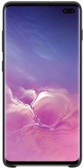 Чехол Samsung Silicone Cover для Galaxy S10+ Black (EF-PG975TBEGRU)