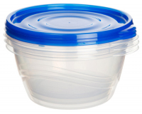 Набор контейнеров для продуктов Sistema TakeAlongs 1,4 л, 3 шт (54125) фото