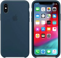 Чехол Apple Silicone Case для iPhone Xs Pacific Green (MUJU2ZM/A)