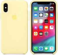 Чехол Apple Silicone Case для iPhone Xs Mellow Yellow (MUJV2ZM/A)