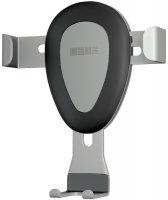 Автомобильный держатель InterStep Гравитация с дополнительным креплением на стекло Silver (IS IS-HD-GRVNWALSL-000B210)