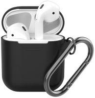 Чехол Deppa для Apple AirPods, черный (47014)
