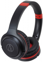 AUDIO-TECHNICA ATH-S200BT BLACK/RED  фото