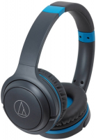 AUDIO-TECHNICA ATH-S200BT GRAY/BLUE  фото