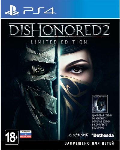 Игра для PS4 Bethesda Dishonored 2. Limited