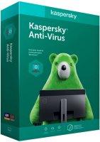 Антивирус Kaspersky Anti-Virus 2ПК/1Г