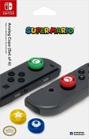 Насадки на стики геймпада для Nintendo Switch HORI Super Mario, 4 шт (NSW-036U)