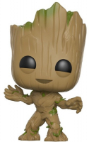 Фигурка Funko POP! Bobble: Guardians Galaxy 2: Groot (13230) funko pop bobble фигурка guardians of the galaxy 2 groot