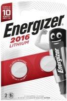 Батарейки Energizer Ultimate Lithium CR2016 BP2, 2 шт