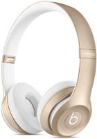 Купить Беспроводные наушники с микрофоном Beats, Solo2 Wireless Gold (MKLD2ZM/A)