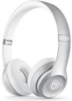 Купить Беспроводные наушники с микрофоном Beats, Solo2 Wireless Silver (MKLE2ZM/A)