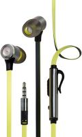 Наушники с микрофоном InterStep BWhite Yellow