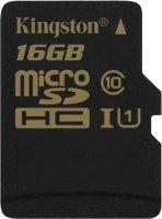 Карта памяти Kingston microSDHC UHS-I Class 10 16GB (SDCA10/16GBSP)