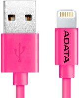 Кабель для iPod, iPhone, iPad ADATA 1 м, Pink (AMFIPL-100CM-CPK)