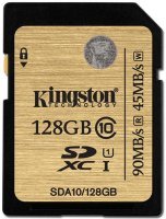 Карта памяти Kingston microSDXC 128GB Class 10 (SDA10/128GB)