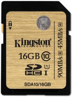 Карта памяти Kingston Ultimate SDHC UHS-I 16GB (SDA10/16GB)