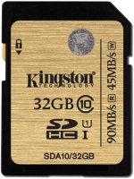 Карта памяти Kingston Ultimate SDHC UHS-I 32GB (SDA10/32GB)