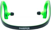 Беспроводные наушники с микрофоном Harper HB-300 Black/Green