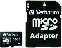 Карта памяти Verbatim microSDHC Class 10 32GB (44083)