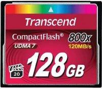 Карта памяти Transcend CompactFlash 800x 128GB (TS128GCF800)