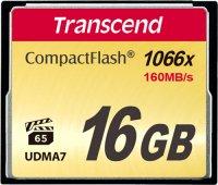 Карта памяти Transcend CompactFlash 1000x 16GB (TS16GCF1000)