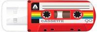 USB-флешка Verbatim Mini Casette Edition 16GB Red (49398)