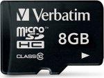 Карта памяти Verbatim microSDHC Class 10 8GB (44012)