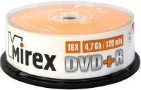 DVD+R диск Mirex 4.7Gb 16x 25 шт (202509)