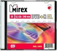 DVD+R диск Mirex Dual Layer 8.5Gb 8x (204190)