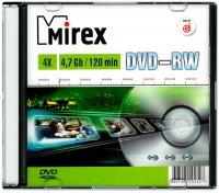 DVD-RW диск Mirex 4.7Gb 4x (202547)