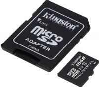 Карта памяти Kingston Industrial Temperature microSDHC UHS-I 16GB (SDCIT/16GB)