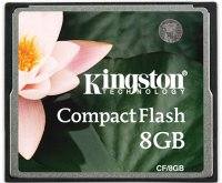 Карта памяти Kingston CompactFlash 8GB (CF/8GB)