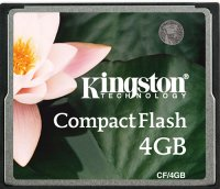 Карта памяти Kingston CompactFlash 4GB (CF/4GB)