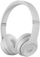 Купить Беспроводные наушники с микрофоном Beats, Solo3 Wireless Matte Silver (MR3T2ZE/A)
