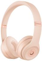 Купить Беспроводные наушники с микрофоном Beats, Solo3 Wireless Matte Gold (MR3Y2ZE/A)