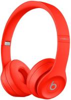 Купить Беспроводные наушники с микрофоном Beats, Solo3 Wireless (PRODUCT)RED (MP162ZE/A)