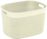 Корзина для белья KIS Filo Basket XL, 30 л Cream (67150000844) фото